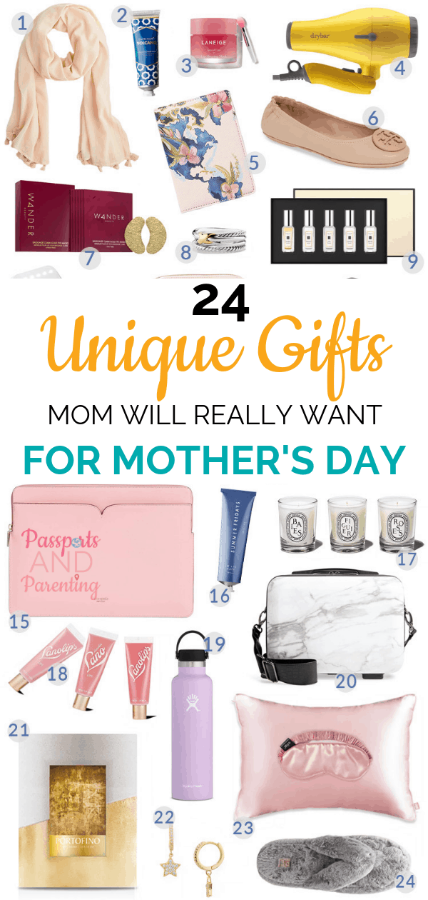 What is the best gift for Mom, especially for Mother's Day? Here is a list of a variety of unique gifts for Mom this year.
