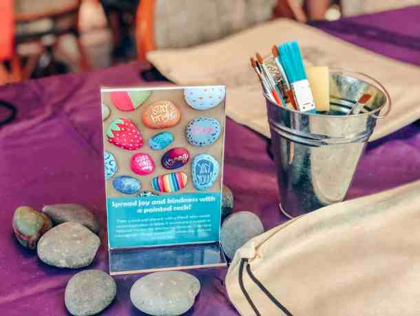 Creation Station and Kindness Rocks for Gaylord National SummerFest Independence Block Party Bash