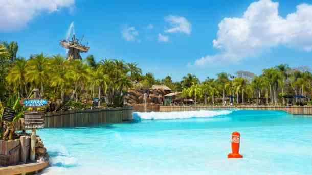 Disney World Typhoon Lagoon Water Park