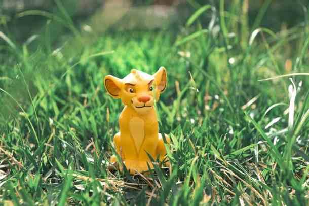 Simba Lion King character