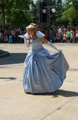Cinderella at Disneyland Paris