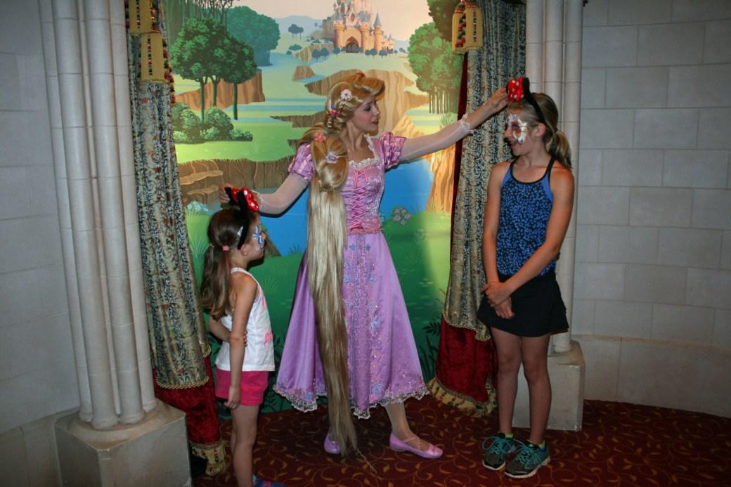 Princess Pavilion, Disneyland Paris