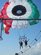 Parasailing Christmas Day!