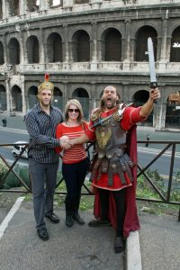 Everyone needs to meet a gladiator in Rome