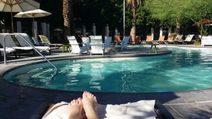 Poolside at the Riviera
