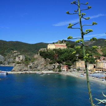 Monterosso from the trail