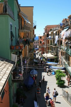 Main Street in Manarola