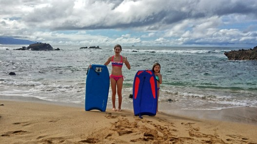 Body Surfing at Alligator Rock