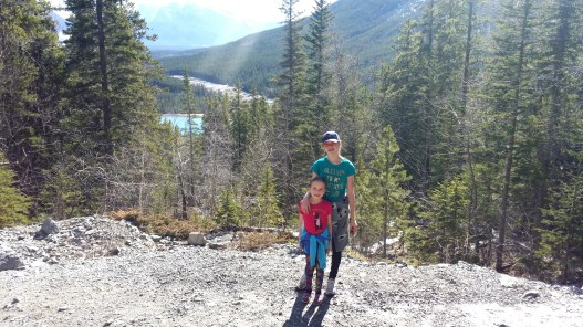 Along the path to Grassi Lakes