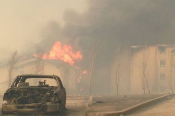 Ft McMurray Fire, via @630CHED