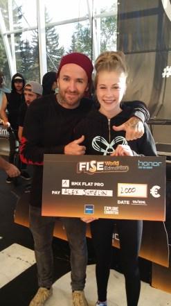 The winner, Alex Jumelin