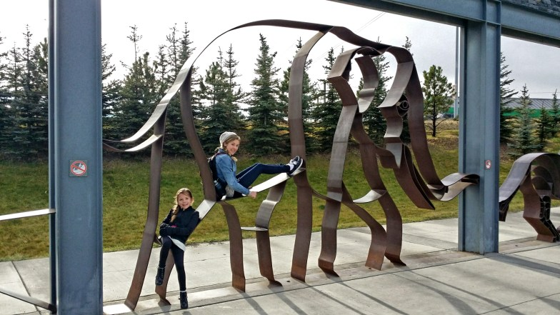 Entrance to the Calgary Zoo