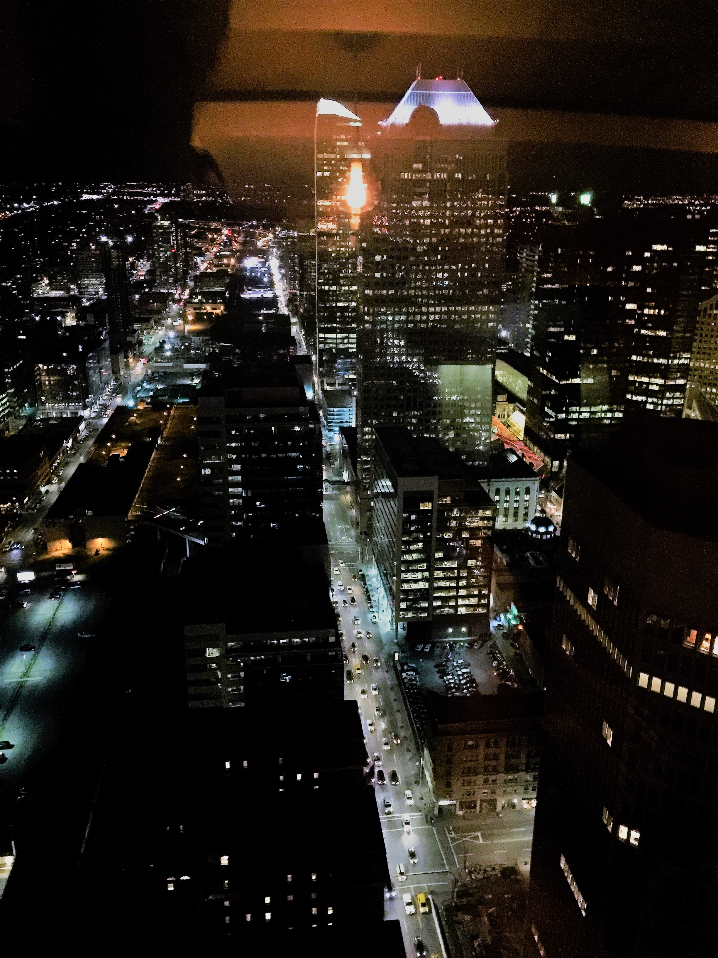 View from the Calgary Tower