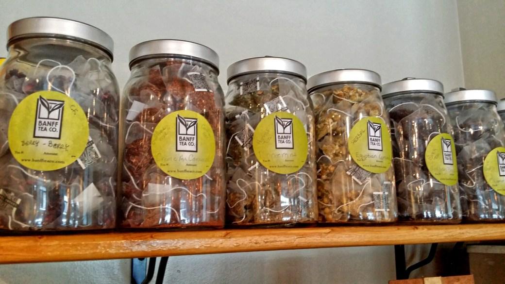 Tea by Banff Tea Company, Mount Engadine Lodge, Kananaskis, Alberta