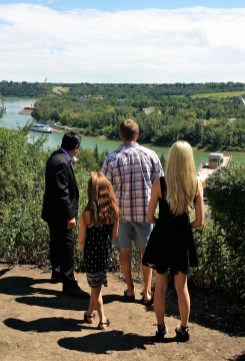 A Private Tour shows off the River Valley of Edmonton