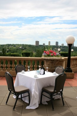 Empire Ballroom Patio, Fairmont Hotel Macdonald, Edmonton, Canada