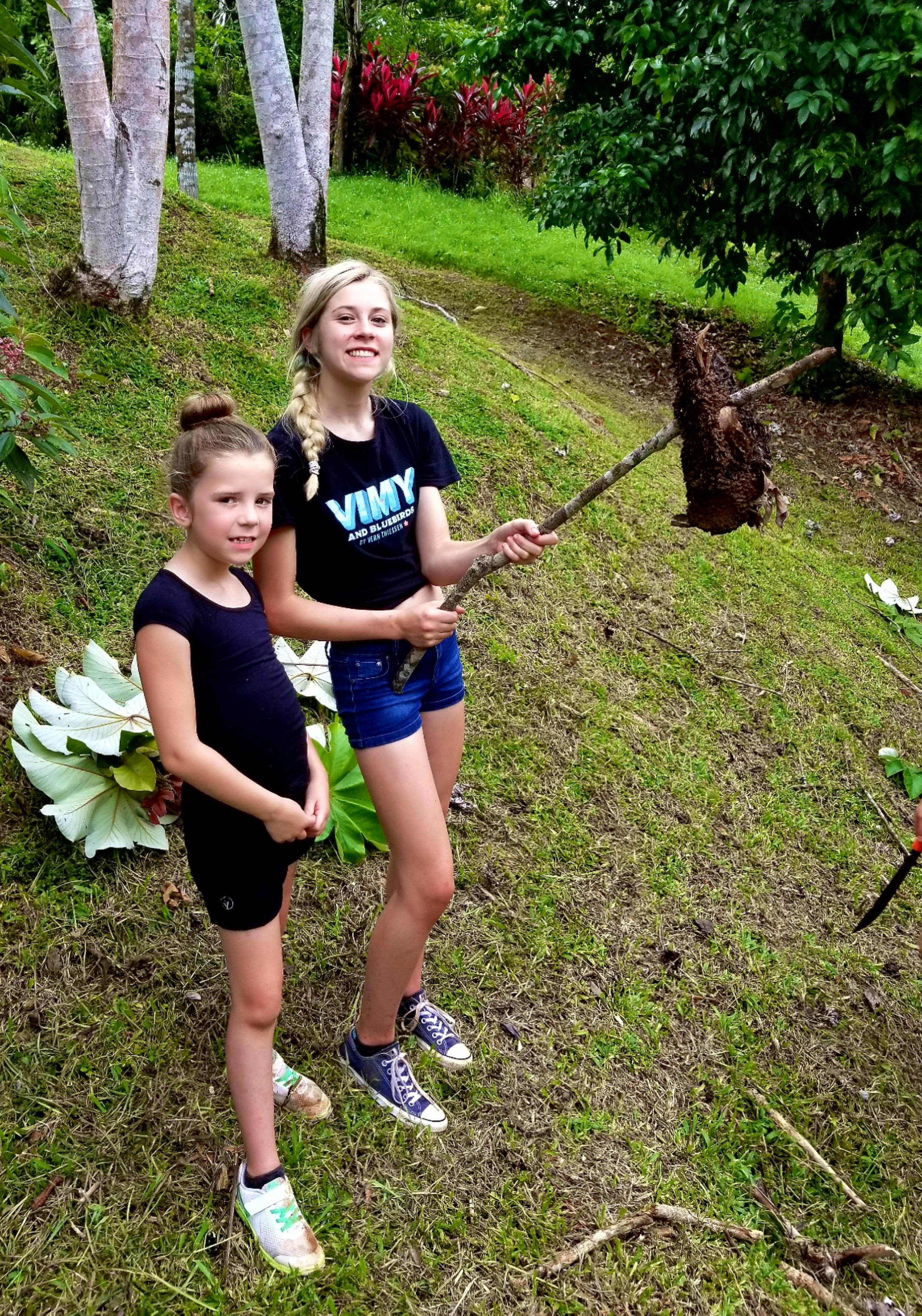 A Termite Nest, Kids Saving the Rainforest, Costa Rica