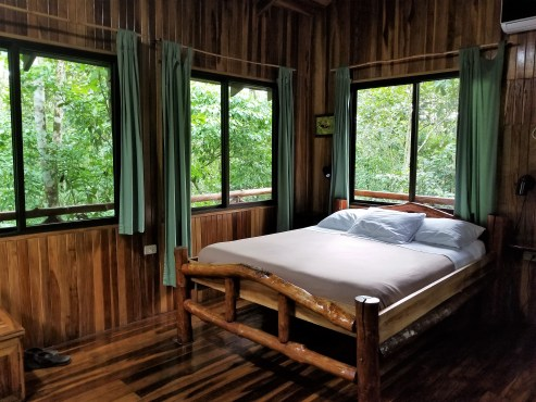Interior, Treehouse Hotel, Costa Rica