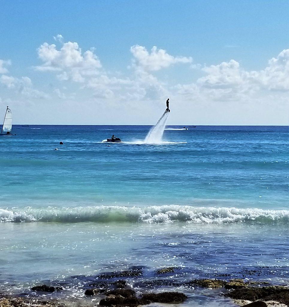 Fly Boarding, Barcelo Maya Grand Resort, Mayan Riviera, Mexico
