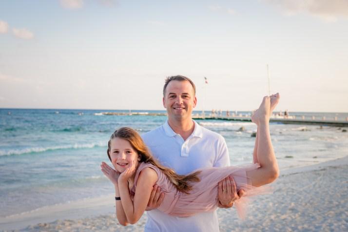 Family Photos at Barcelo Maya Grand Resort, Mexico