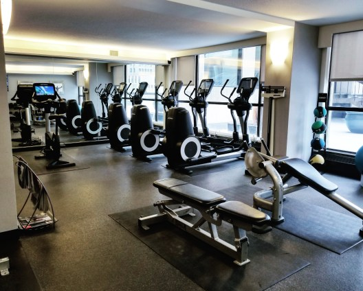 Gym, Calgary Marriott Downtown Hotel, Calgary, Alberta