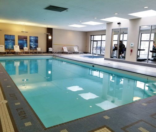 Pool, Calgary Marriott Downtown Hotel, Calgary, Alberta