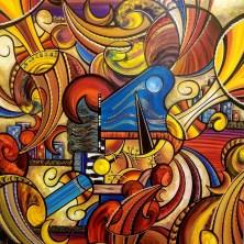 Art, Calgary Marriott Downtown Hotel, Calgary, Alberta