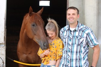 Meeting 'Tiger', the Thoroughbreds, Northlands Park, Edmonton, Alberta