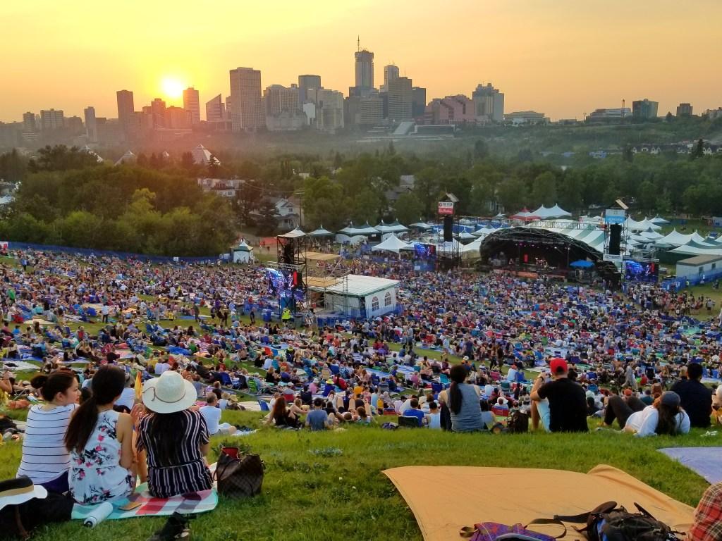 Best Edmonton Summer Experiences: Edmonton Folk Music Festival, Edmonton, Alberta