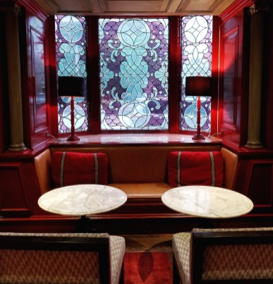 Red Room Lounge, Oak Long Bar + Kitchen, Fairmont Copley Plaza, Boston