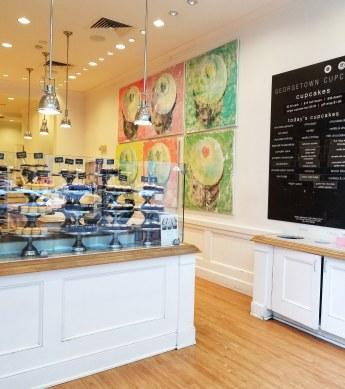Georgetown Cupcake, Newbury Street, Boston