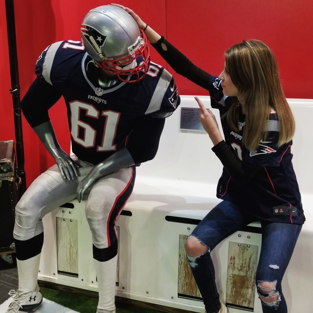 Patriot Pace Hall of Fame, Patriot Place, New England