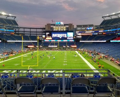 Gillette Stadium and the New England Patriots