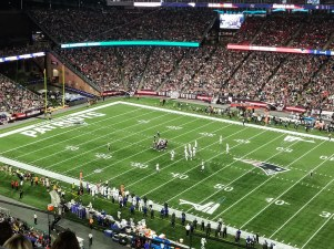 Patriots vs Colts, Gillette Stadium, New England