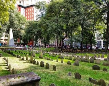Granary Burying Ground, Boston, Massachusetts