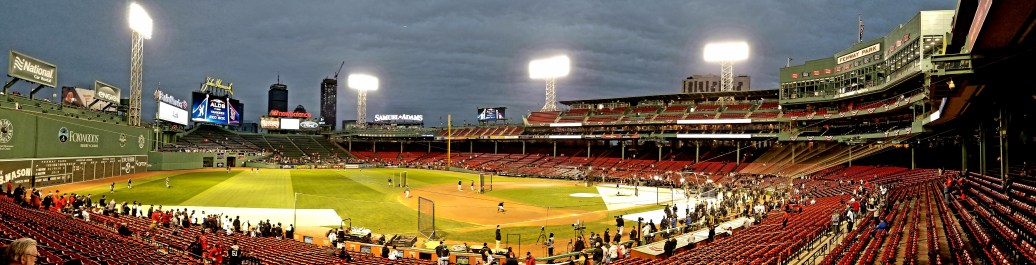 Boston Red Sox at Fenway Park, Boston