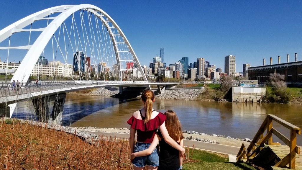 Walterdale Bridge, Edmonton, Alberta