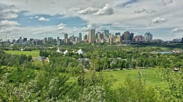Downtown Edmonton, Alberta