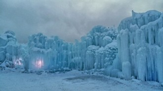 Ice Castle Edmonton