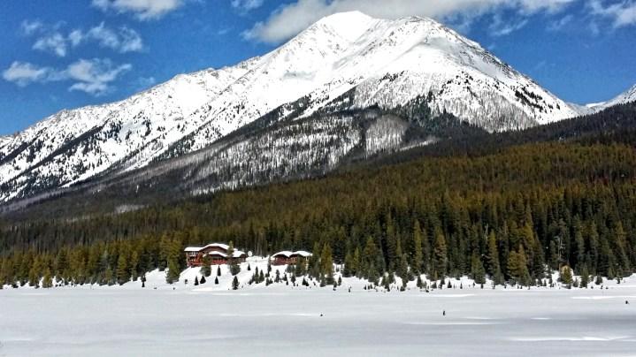 The Meadow at Mount Engadine Lodge, Kananaskis, Alberta, Canada