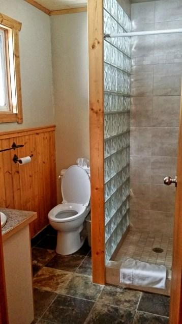 Bathroom, Whiskey Jack Cabin