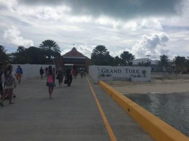 Entrance near port