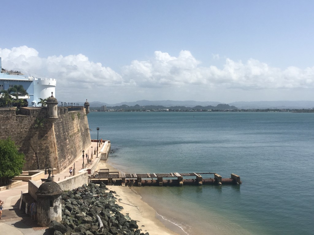 old san juan waterfront