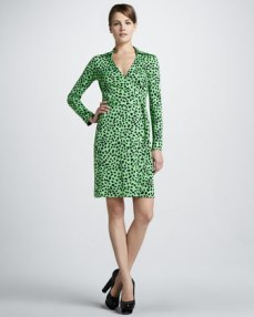 4. Printed Dress: DVF Jeanne Two