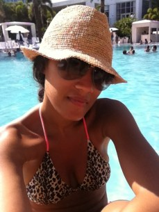 profiling by the pool....lol