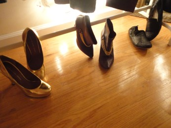 golden rule - 3 pairs of shoes!