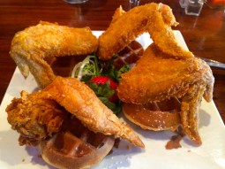 chicken + waffles @ ms. tootsie's