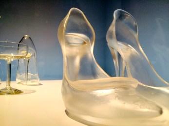 killer heels glass slipper frosted