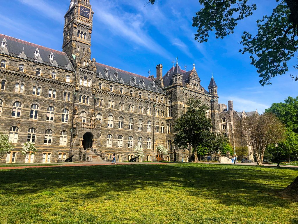 Equality in Education at Georgetown University - Passports from the Heart