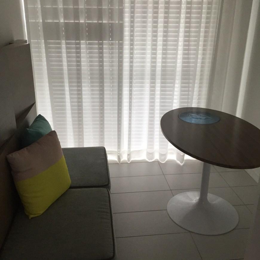 Breakfast area of the Master Bedroom